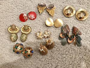 Vintage Clip Earrings for $5 per pair for Sale in Rockville, MD