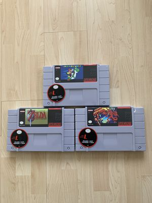 Nintendo Super Mario Zelda Metroid T-shirts Size Large for Sale in Chino Hills, CA