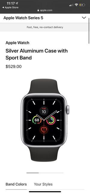 Apple Watch Series 5 - 44mm GPS + Cellular for Sale in Woodbridge, VA