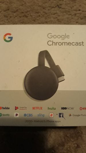 Google chromecast for Sale in Orting, WA