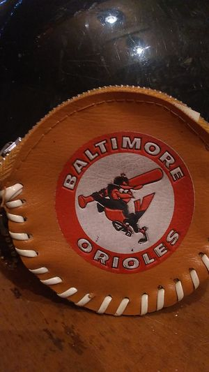 Vintage Orioles vinyl zippered change pouch for Sale in Columbia, PA