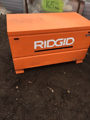 Ridged Tool & Supply Box for Sale in Grosse Pointe Park, MI