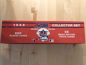 Score vintage 1988 collectible cards set for Sale in Los Angeles, CA
