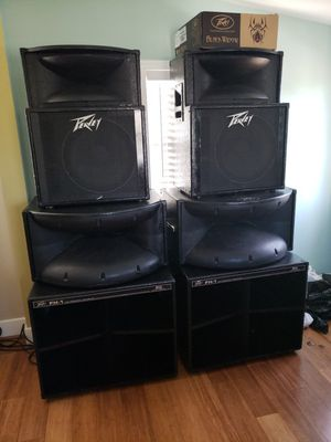 Peavy 6 Speaker Set for Sale in Manassas, VA