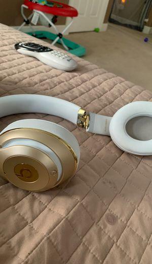Beats wireless gold headphones for Sale in Corona, CA