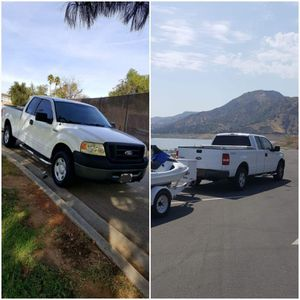 112,000 MILES 2008 FORD FOR WORK O DELUXE FORD F150,4 DOORS,V8 4X4,5.4 TRITON ENGINE STRONG for Sale in Los Angeles, CA