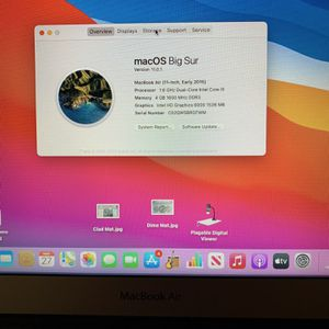 "MacBook Air 11"" (Early 2015) 126GB for Sale in Simi Valley, CA"
