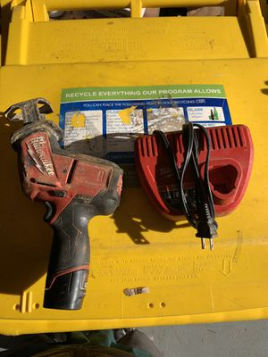 Milwaukee m12 hack saw for Sale in Edgewater, MD