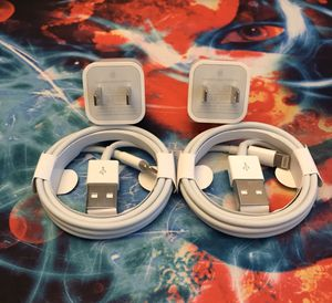 Apple IPhone Chargers 2 Sets for Sale in Citrus Heights, CA