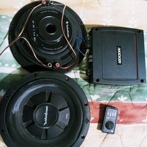 Kicker 400.1 Fosgate 10z 400watts Max Each for Sale in Dallas, TX
