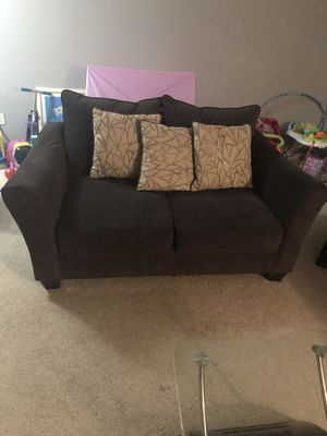 5 Piece Smoke Grey Living Room Set - SERIOUS INQUIRIES ONLY !!!! for Sale in Landover, MD