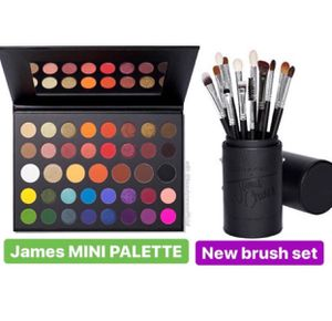 Morphe x James Charles Mini palette and 13 pc brush set for Sale in Los Angeles, CA