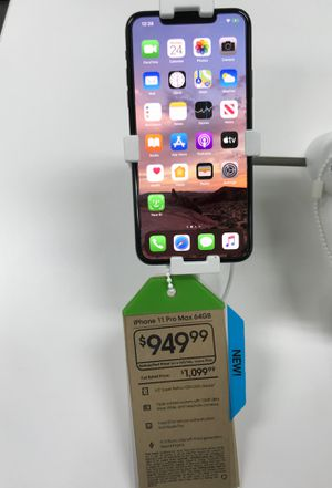 IPhone 11 pro max $150 off when you switch to cricket for Sale in Winston-Salem, NC