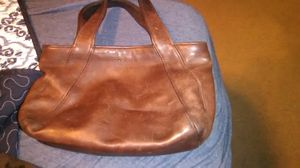 COACH ..Leather Brown small handbag for Sale in Columbus, OH
