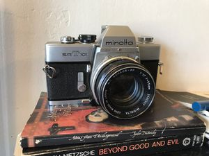 Minolta SRT 101 - 35mm Film Camera - Excellent Condition for Sale in San Luis Obispo, CA
