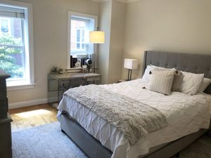 Queen Bed Set— Headboard/Bed Frame + Mattress + Box Spring for Sale in Washington, DC