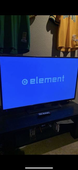 55' HD ELEMENT TV (NO ISSUES,LIKE NEW) for Sale in Modesto, CA