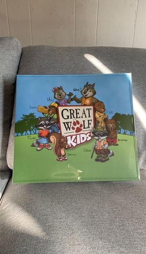 Great Wolf Lodge Birthday Scrapbook - New!!! for Sale in Puyallup, WA