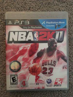 NBA 11 PS3 for Sale in Denver, CO