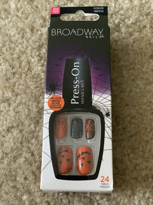 Broadway Press on Halloween Nails for Sale in New Port Richey, FL