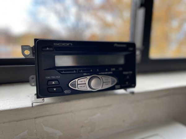 Dvd stereo system for scion XA