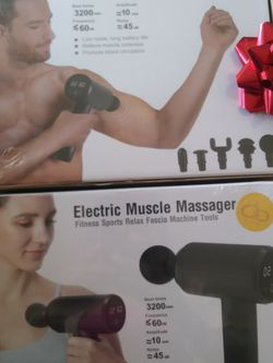 Electric Massage Gun for Sale in Compton,  CA