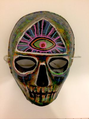 Third Eye Skull Mask for Sale in Chicago, IL