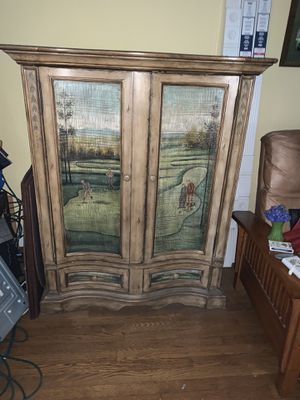 Quality cabinet for TV for Sale in Burien, WA