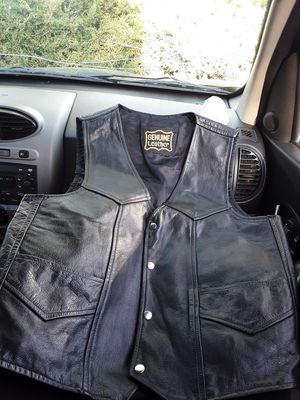 Genuine Leather Vest for Sale in Lakewood, CO
