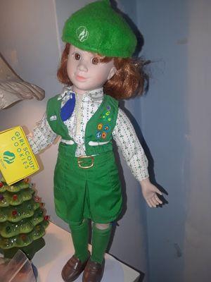 Vintage ceramic girl scouts doll for Sale in Lake Villa, IL