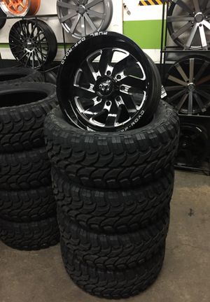 20x10 inch wheels and tires for Sale in Gresham, OR