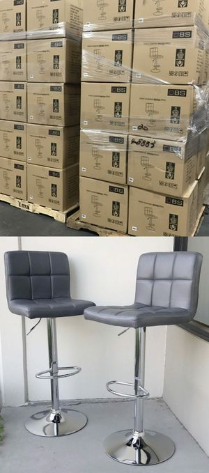New in box $40 each barstool bar counter height adjustable high chair stool kitchen counter furniture for Sale in Whittier, CA