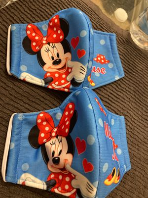 Minnie Mouse face mask both for $12 for Sale in Miami, FL