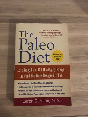 Paleo Diet Book for Sale in Gulfport, MS