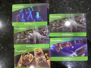 Disney Park Hopper Tickets x5 $80 each Obo for Sale in Orlando, FL