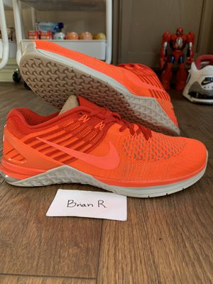 Nike Metcom DSX Flyknit Workout Shoe Size 10 for Sale in Fresno, CA