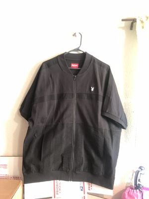 SUPREME PLAYBOY ZIP UP TOP SIZE XL for Sale in Freedom, CA