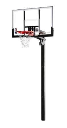 "Spalding Acrylic In-ground Basketball Hoop System, 54"" Backboard for Sale in Austin, TX"