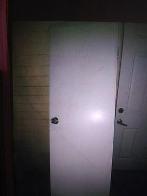 Closet door with doorknob for Sale in Phoenix, AZ