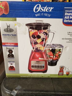New oster 2 in 1 includes food chopper for Sale in Riverside, CA