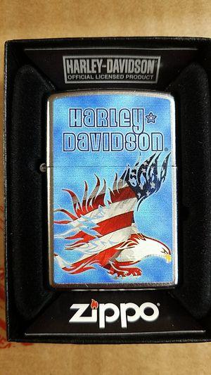 Zippo Harley Davidson eagle street chrome 28246 for Sale in Los Angeles, CA