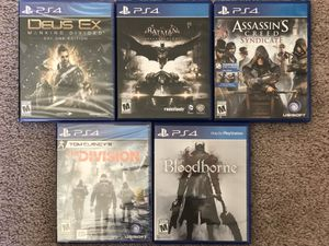 PS4 Games for Sale in Troy, MI