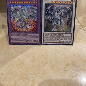 Neo Blue-Eyes Ultimate Dragon And Azure-Eyes Silver Dragon for Sale in Miami, FL
