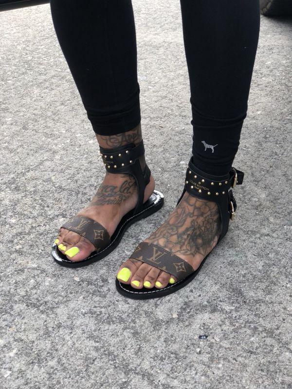 """e8fd277e17d Louis Vuitton """"NOMAD"""" Sandals for Sale in Houston"""