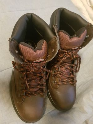 Men's Brahamas work boots steel toed size 7 asking $30 pick up lewisburg for Sale in Lewisburg, TN