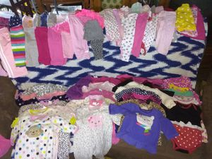 Baby girl clothes nb- 12 months for Sale in San Bernardino, CA