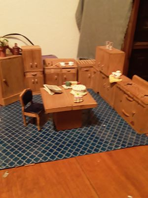 Wood Doll H ouse Furniture for Sale in Glendale, AZ