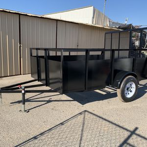 "79"" X10' Trailer for Sale in Madera, CA"