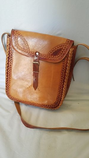 Handmade Leather Messenger Bag for Sale in North Las Vegas, NV