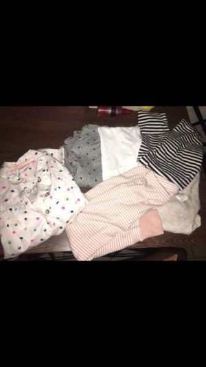 Little girls clothes size 6 leggings shirts pjs for Sale in Chelsea, MA